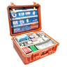 1550 EMS Series Medium Protector Case™ with Padded Bottom Dividers, Adjustable Walls, Multi Layer Lid Organizer, Orange