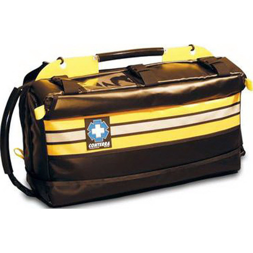 Infinity Jump II Medical Bag, 5in x 9in x 24in, Black/Safety Yellow