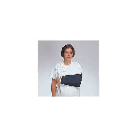 *Discontinued* Cotton Arm Sling, Blue, Large, 18in L x 8in W