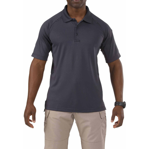 5.11 Men's Performance Polo Shirts, Short Sleeve, White