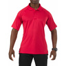5.11® Men's Performance Short Sleeve Polo Shirt, Regular, Range Red, XS
