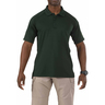 5.11® Men's Performance Short Sleeve Polo Shirt, Regular, LE Green, Medium