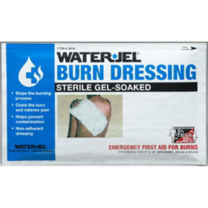 *Discontinued* Water Jel Burn Dressings, 8 inch x 18 inch