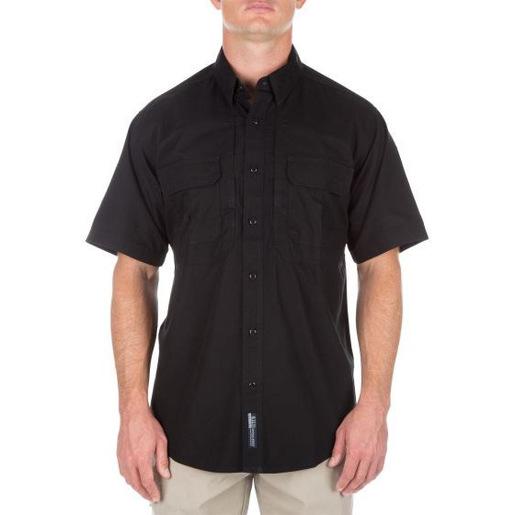 5.11® Men's Short Sleeve Shirt, Black, 2XL