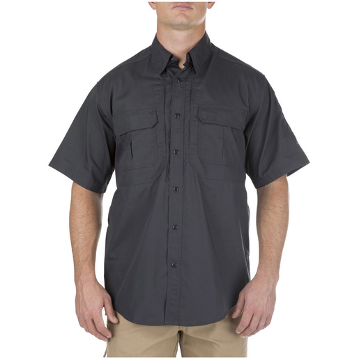 5.11 Men's Taclite Pro Shirts, Short Sleeve, Charcoal