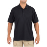 5.11® Men's Tactical® Jersey Short Sleeve Polo Shirt, Dark Navy, 2XL