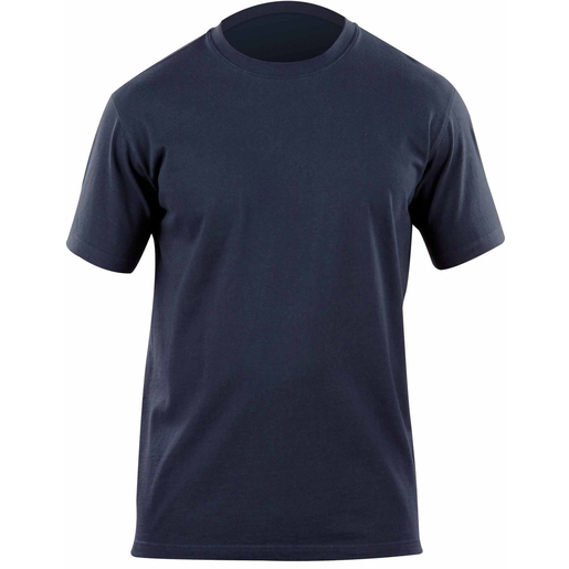 5.11 Men's Professional Short Sleeve T Shirts, Fire Navy