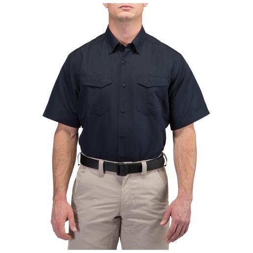 5.11 Men's Fast-Tac™ Short Sleeve Shirt, Dark Navy