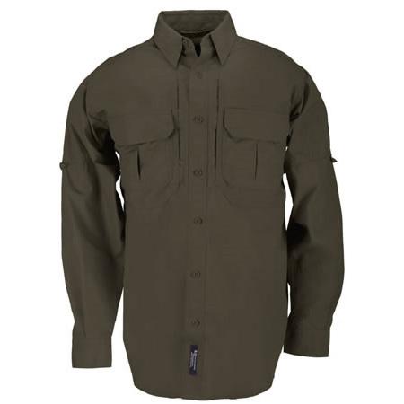 5.11® Men's Tactical® Long Sleeve Shirt, Regular, Tundra, XS