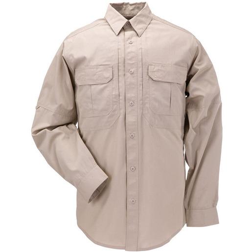 5.11® Taclite® Pro Long Sleeve Shirt, TDU Khaki, Tall, 2XL