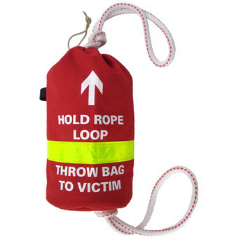 Water Rescue Rope Bag, Red