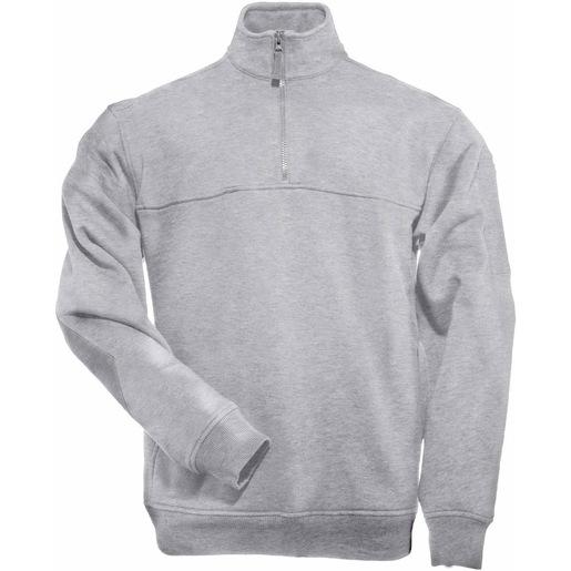 5.11 Men's 1/4 Zip Job Shirts, Heather Grey