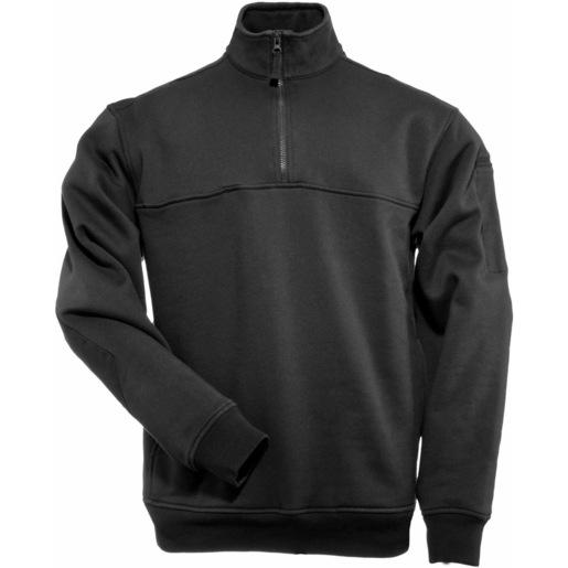 5.11 Men's 1/4 Zip Job Shirts, Black