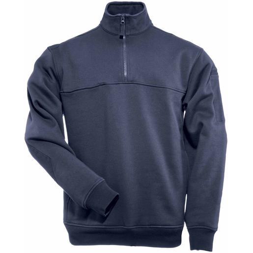 5.11 Men's 1/4 Zip Job Shirts, Fire Navy