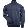 5.11® Men's 1/4 Zip Long Sleeve Job Shirt, Regular, Fire Navy, Small