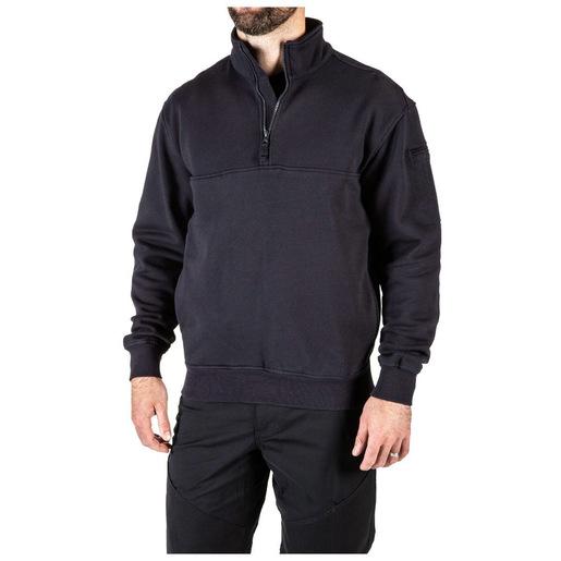 5.11 Men's 1/4 Zip Job Shirts, Tall, Fire Navy