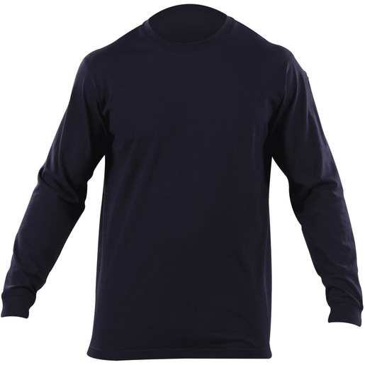 5.11 Men's Professional Long Sleeve T Shirts, Fire Navy