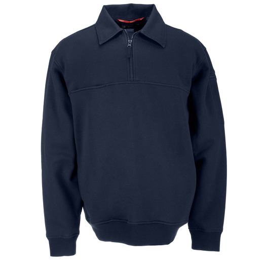 5.11 Men's Job Shirts w/Canvas Details, Tall, Fire Navy