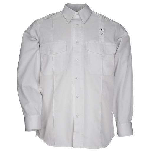 5.11, Shirt, PDU Twill Class A, Long Sleeve, Men, White