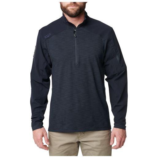 5.11 Rapid Quarter Zip Shirt, Men's Navy XL