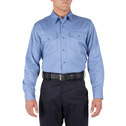 5.11 Company Long Sleeve Shirt, Fire Med Blue
