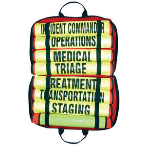 Triage/Mass Casualty Vest Kit with 8 Vests