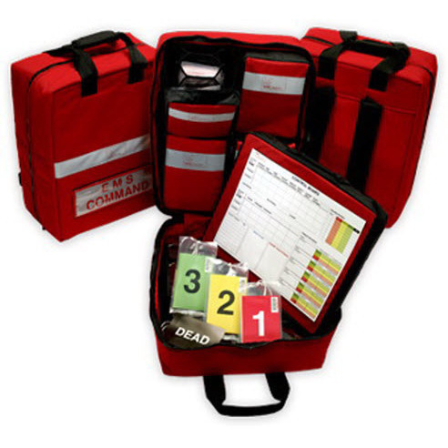 SMART MCI Bag™ with 4 SMART Triage Packs™ and a SMART Commander™