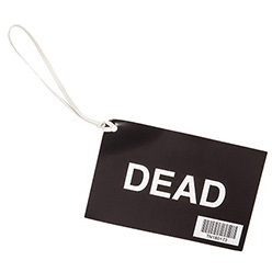 Dead Tag, Bar-Coded