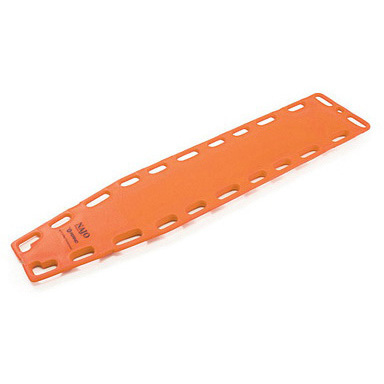 Najo RediHold Backboard with Pins, 72in L x 16in W x 2in H, Orange