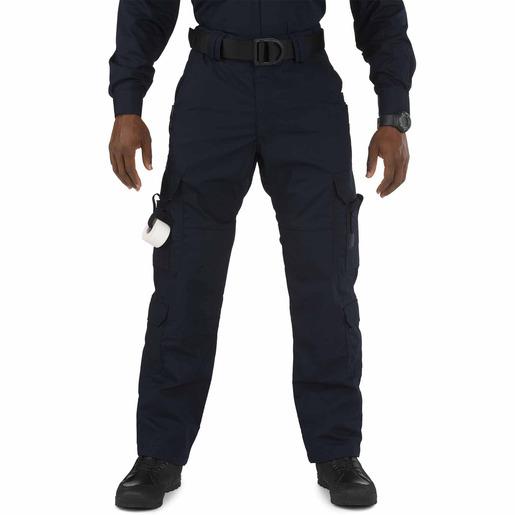 5.11 Men's Taclite EMS Pants, Unhemmed, Dark Navy