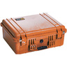 Pelican™ 1554 Case with Padded Dividers, Orange