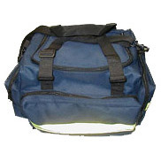 *Discontinued* Maxi-Trauma Triple Pocket Bags, Blue Impervious