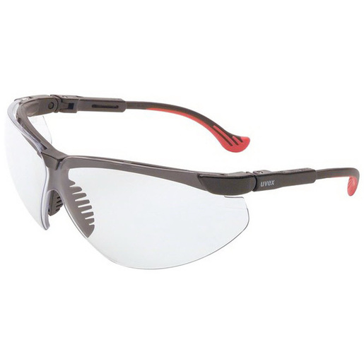 Uvex™ Genesis XC™ Protective Eyewear, Clear Lens, Black Frames *Non-Returnable and Non-Cancelable*