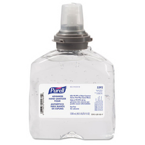 Purell® Instant Hand Sanitizer Refill, 1200mL, Clear