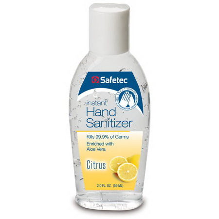 *Discontinued* A.B.H.C.® Instant Hand Sanitizer, Citrus Scent, Squeeze Bottle, 2oz *Non-Returnable and Non-Cancelable*