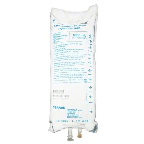 Sodium Chloride 0.9% IV Bags