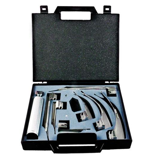 American Profile Fiber Optic Conventional Macintosh/Miller Laryngoscope Blade Kit