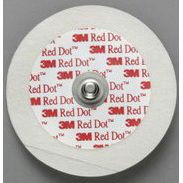 Red Dot™ Tape Monitoring Solid Gel Electrodes, Pediatric/Neonatal, 1.75in Diameter Size