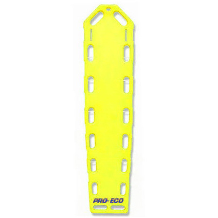 *Discontinued* Pro-Eco® Backboard, Neon Yellow, 72in x 16in x 2-1/4in