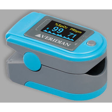 Deluxe Pulse Oximeter Blood Oxygen Level Monitor