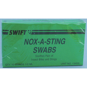 Nox-A-Sting Insect Sting Swab