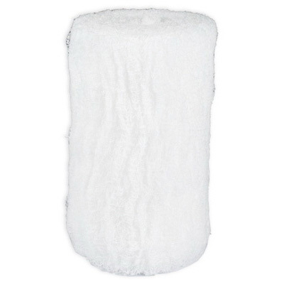 Krinkle Gauze Rolls and Sponges, 4.5in x 4.1yd, 6-ply