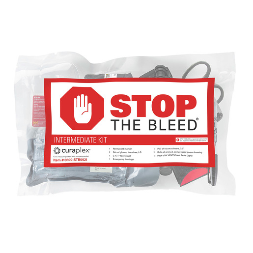 Curaplex® Stop the Bleed®, Intermediate Kit w/C-A-T