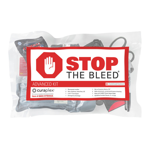 Curaplex® Stop the Bleed®, Advanced Kit w/C-A-T