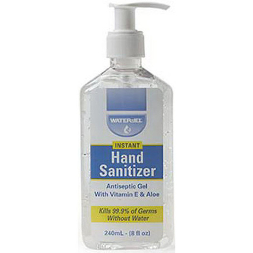Water Jel Hand Sanitizer, 8oz