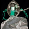 Curaplex® Partial Non-rebreather Oxygen Mask, High Concentration, Elongated Pediatric