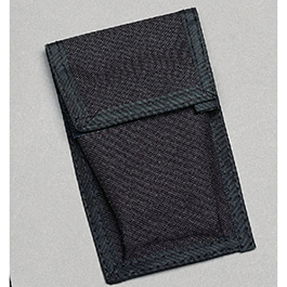 Pager Case, Small, 4-1/2in L x 2-3/4in W, Black