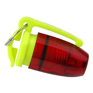 Mini Flasher™ Flashlight, Red LED, 1.75in L