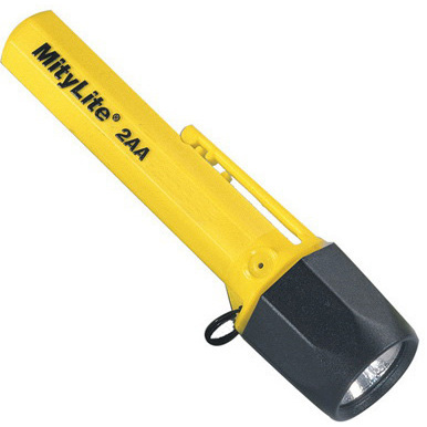 *Limited Quantity* MityLite™ Flashlight, Yellow, 5-5/8in L
