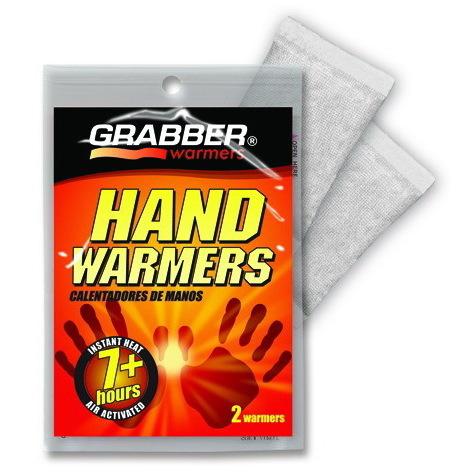 Grabber® Warmer Heat Pack, Disposable, Rectangular